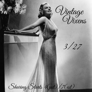 SATURDAY 3/27 Vintage Vixens Sign Up Sheet